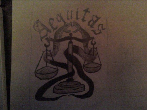 Veritasaequitas Tattoo Design for Women