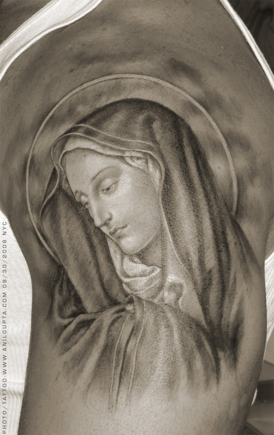 Inspirational Virgin Mary Tattoo Design Ideas Example Religious
