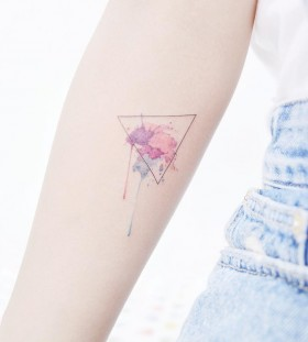 watercolor-triangle-tattoo-by-tattooist_banul