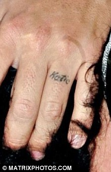 Couple Name Wedding First Ring Finger Tattoo Design