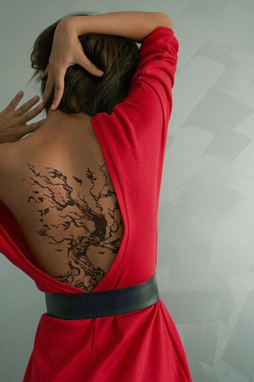 Funtastic Weeping Willow Tree Tattoo Designs For Girls