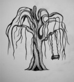 Weeping Willow Tree Tattoo Design Ideas