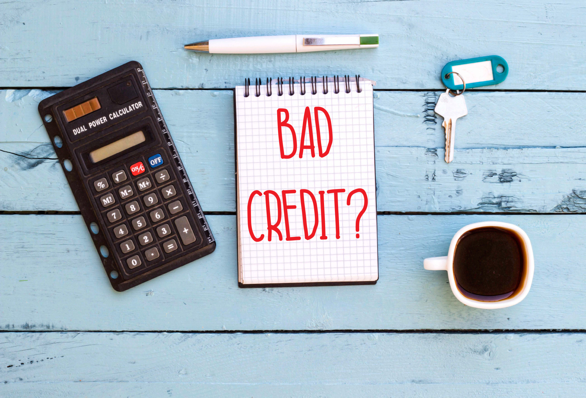 what is a bad credit score