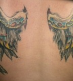 Great Mechanical Wings of Angel Tattoos Design for Men
