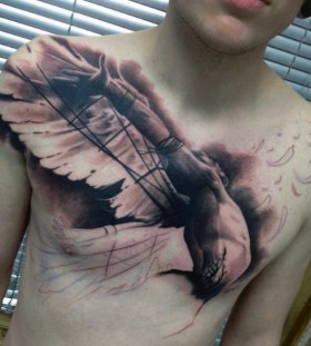 wings tattoos for men