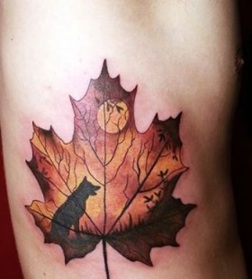 wolf-autumn-tattoo