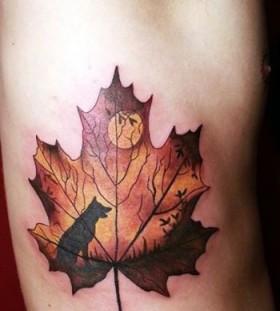 wolf-autumn-tattoo