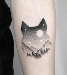 wolf-dotwork-tattoos