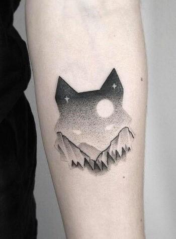 wolf-dotwork-tattoos