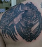 Wolf Tattoo On Shoulder - Wolf Tattoo Design For Men