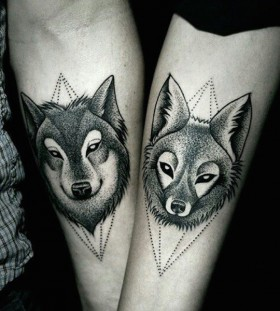 wolfpack couples tattoos