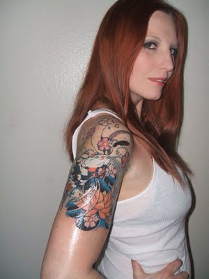 Half Sleeve Tattoo Design Ideas for Girls
