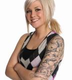 Odd Girl Sleeve Tattoos Design for Women