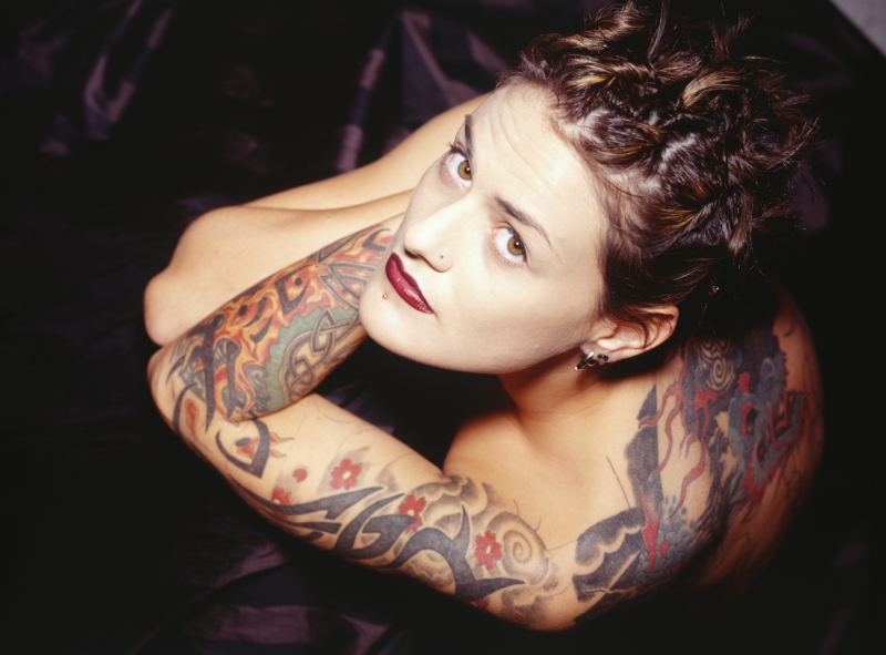 Tribal Sleeve Tattoo Designs For Women