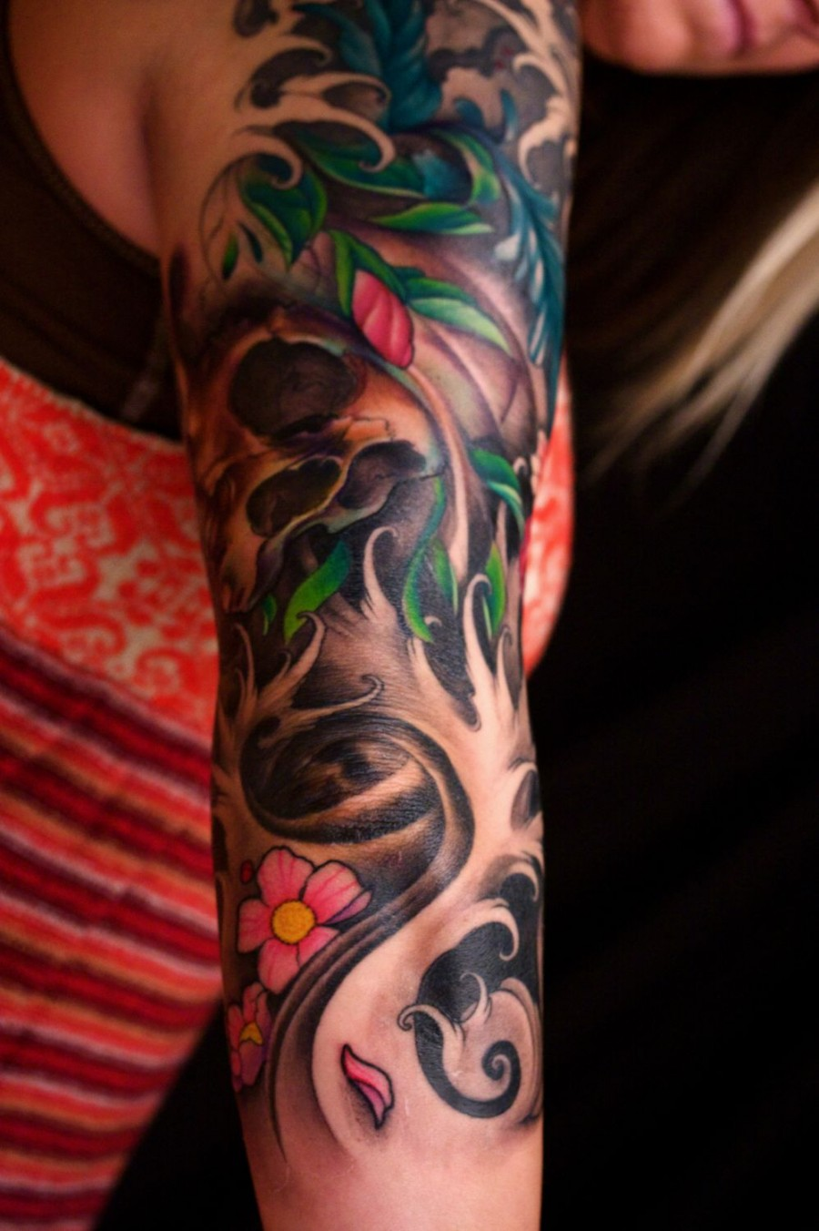 Amazing Sleeve Arm Tattoo Design