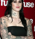 Kat Von D Neck Tattoos Design Inspiration