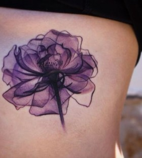 x-ray flower tattoo
